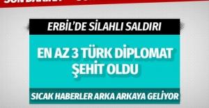 Erbil#039;de Türk konsolosluk çalışanlarının...