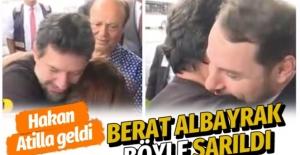 Hakan Atilla 32 ay sonra Türkiye'ye geldi Berat Albayrak bizzat karşıladı