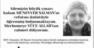Sedat Peker'e Başsağlığı