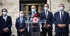 Sağlıkta şiddetin engellenmesine yönelik kanun teklifi Meclis Başkanlığına sunuldu