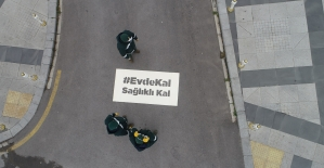 Sultanbeyli'de caddeler, sokaklar 'Evde...