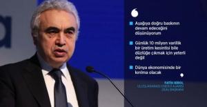Uluslararası Enerji Ajansı Başkanı Birol G20'yi 'petroldeki çöküşü' önlemeye çağırdı