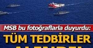 MSB'den Oruç Reis açıklaması: Tüm tedbirler alındı