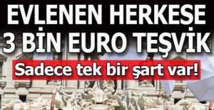 3 bin euro teşviğe rağmen evlenen yok