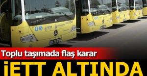 İstanbul'daki tüm toplu taşıma otobüsleri İETT çatısı altında birleşiyor
