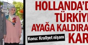 Hollanda#039;dan Türkiye#039;yi...