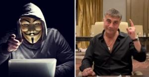 Ünlü hacker grubu Anonymous'tan Sedat Peker'in o sözlerine yanıt gecikmedi: Yürü git, faşist..