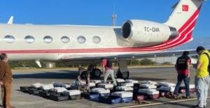 ACM Holding'in kiraladığı jette 1,3 ton kokain yakalandı