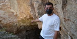 Sivas'ta gizemli mağaranın içini gören şaştı kaldı: Yarı yarıya azaldı