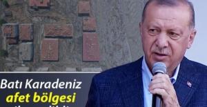 Son dakika... Cumhurbaşkanı Erdoğan sel bölgesinde... 'Devlet olarak tüm imkanlarımızla sizinleyiz'