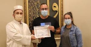 Alman vatandaşı Kayseri'de Müslüman oldu: Onlardan etkilendim