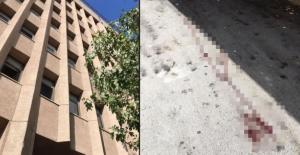 Ankara'da mahkemenin kararını duyunca pencereden atladı! Kanlar içinde kaldı