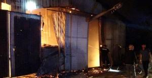 Bingöl'de, arpa değirmeninde çıkan yangın söndürüldü