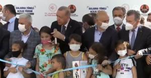 Erdoğan'ın bu anı sosyal medyada gündem oldu