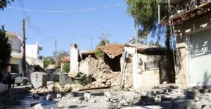 Girit Adası, 5.8'lik depremle sarsıldı: 1 ölü