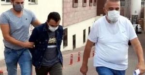 Kayseri'de 11 yıl hapisle aranan hükümlü, otoparkta yakalandı
