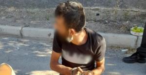 Konya'da bıçaklı hırsızlık şüphelisi bacağından vurularak etkisiz hale getirildi