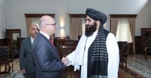 Taliban ve Türkiye arasında ilk resmi temas! Afganistan Büyükelçisi Dışişleri Vekili ile buluştu