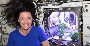 Uzayda biber fideleri çiçek açtı! Astronotlar kendi yiyeceklerini yetiştirebilecek