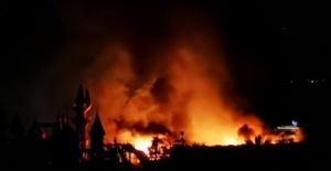 5 yıldızlı otelin yakıt tankı patladı, saatler süren yangın güçlükle kontrol altına alındı