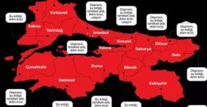 Marmara'nın risk haritası çıkarıldı! Durum vahim: İstanbul Kocaeli Sakarya Çanakkale...