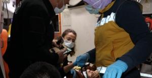 Polis, yaralı anneye çocuğunu cep telefonuyla gösterdi
