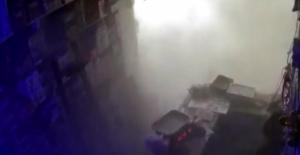 İdlib'te 11 kişinin öldüğü pazar yeri saldırısının kamera görüntüleri ortaya çıktı