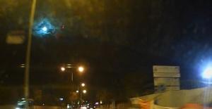 İstanbul'da gece düşen göktaşı, gökyüzünü aydınlattı