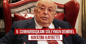 9. Cumhurbaşkanı Süleyman Demirel...