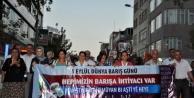 Adıyaman'da 1 Eylül Dünya Barış Günü Kutlaması