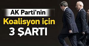 AK Parti#039;nin ödün vermeyeceği...