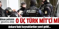 Almanyadaki 3 Türke casusluk suçlamasına Ankaradan yanıt geldi