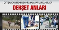 Ankara'daki silahlı çatışma saniyeler sonrası o anlar