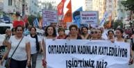 Antalya'da Barış Yürüyüşü