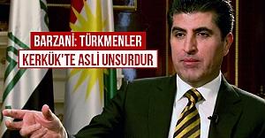 Barzani: Türkmenler Kerkük'te asli unsurdur