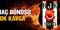 Bursaspor maçı dönüşü şok kavga