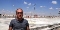 Çadir Kentte Prefabrik Hastane Yapımına Başlandı