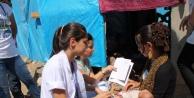 Çadirlarda Kalan Suriyeliler'e Sağlık Taraması