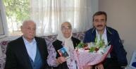 Chp'li Başkan, Anneler Günü'nde  Balyoz Sanığı Albayın Ailesini Ziyaret Etti