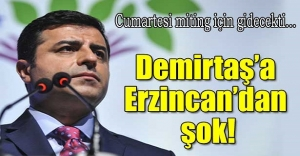 Demirtaş'a Erzincan'dan şok!