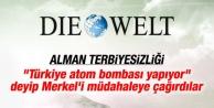 Die Welt: Türkiye atom bombası yapıyor