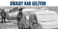 Dikkat kar geliyor!