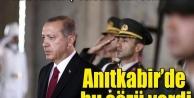 Erdoğan Anıtkabir'de bu mesajı yazdı
