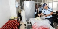 Gaziantep'te 20 Bin Şişe Sahte Nar Ekşisi Ve Sirke Ele Geçirildi