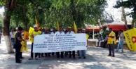 Gaziantepte Öğretmenlerden Protesto
