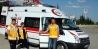 Gezici Ambulanslarla Kazalara Hızlı Müdahale