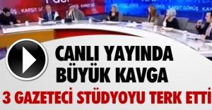 HABERTÜRKTE KABATAŞ KAVGASI