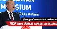 HDPden dikkat çeken açıklama