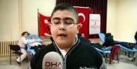 İlkokul Öğrencisinden Kan Bağışı Kampanyası