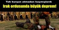Irak ordusunda büyük deprem!
